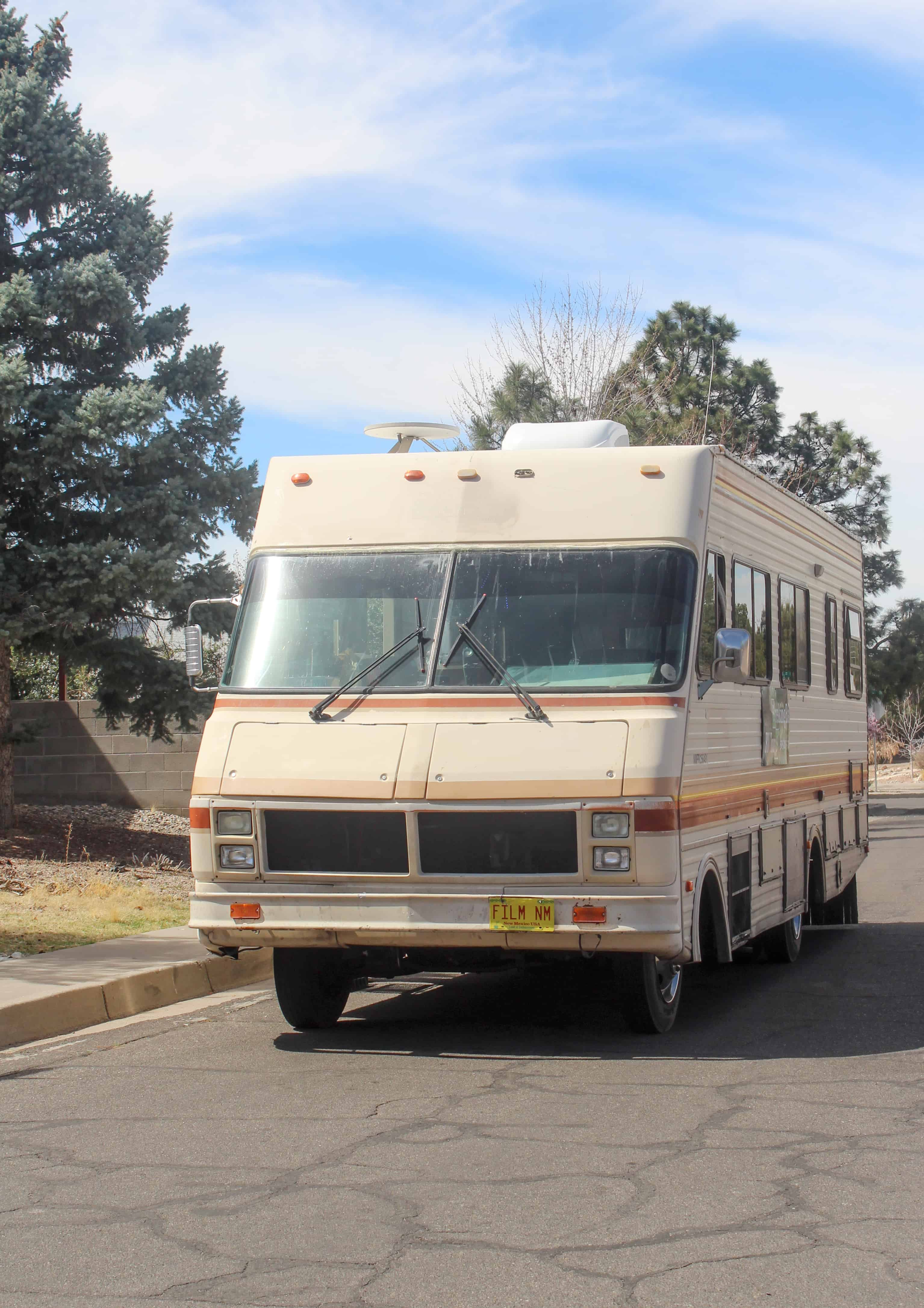 Breaking Bad Tour RV on the Go