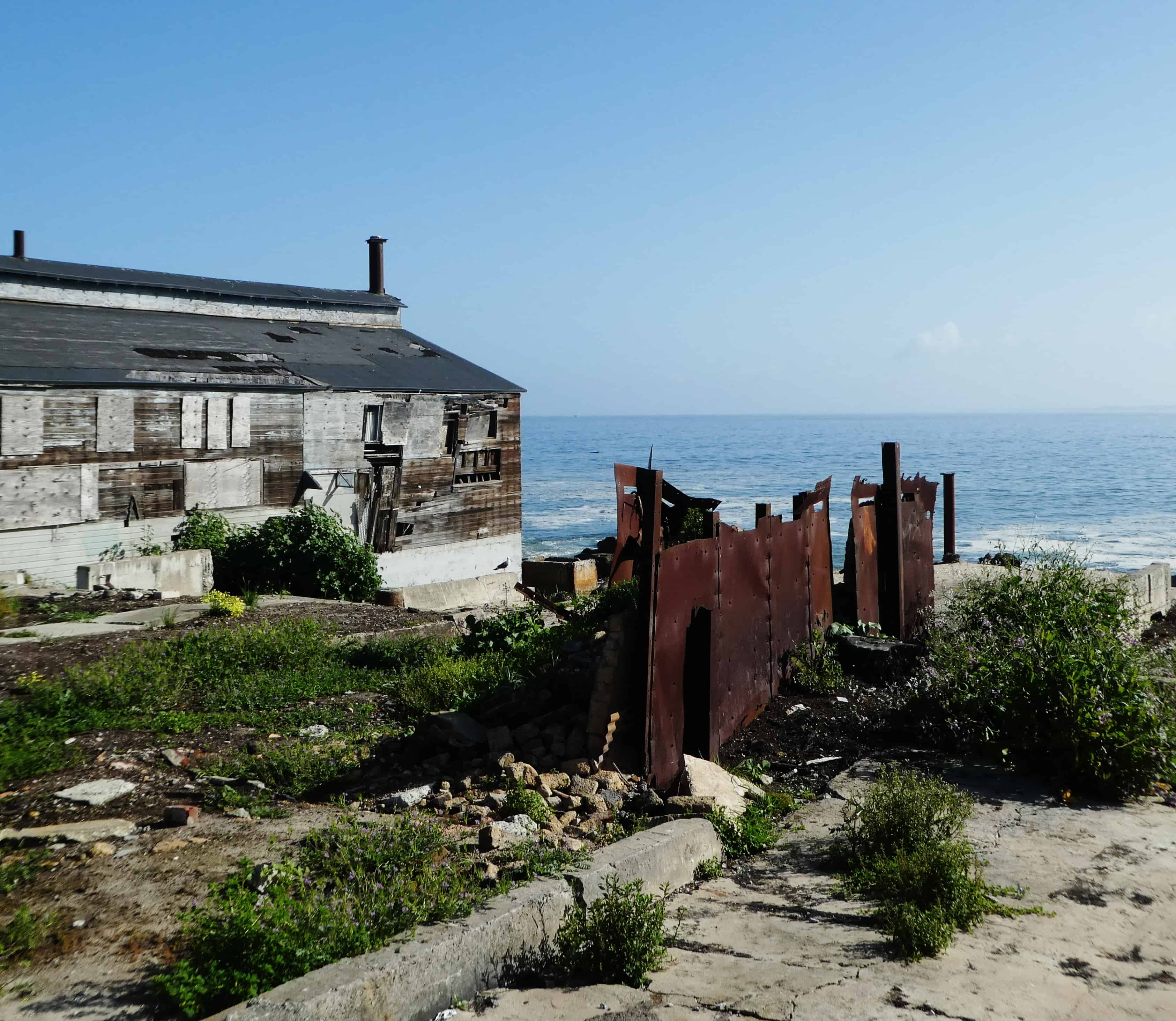 Cannery Row Ruins Monterey