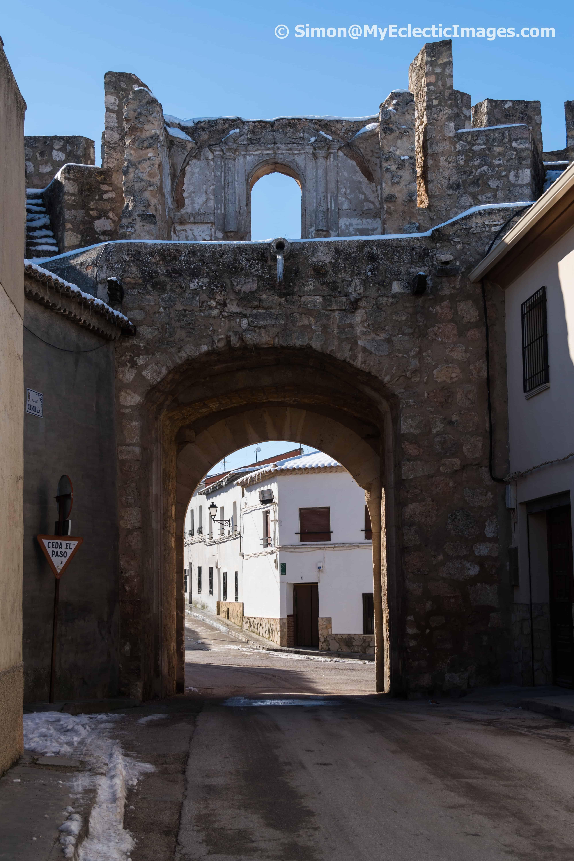 City Gate in the Village of Belmonte VaughanTown Spain
