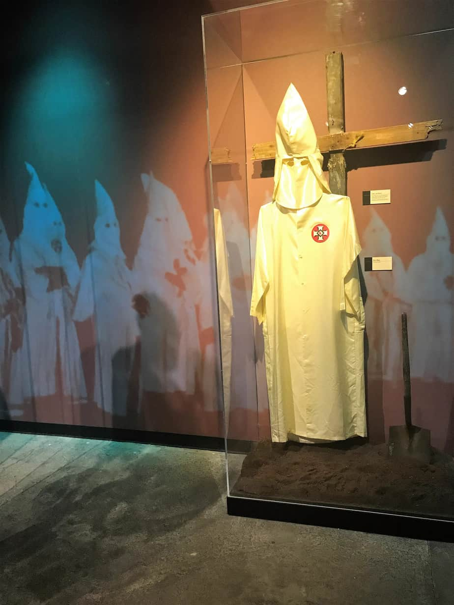 History of KKK Birmingham Civil Rights Institute