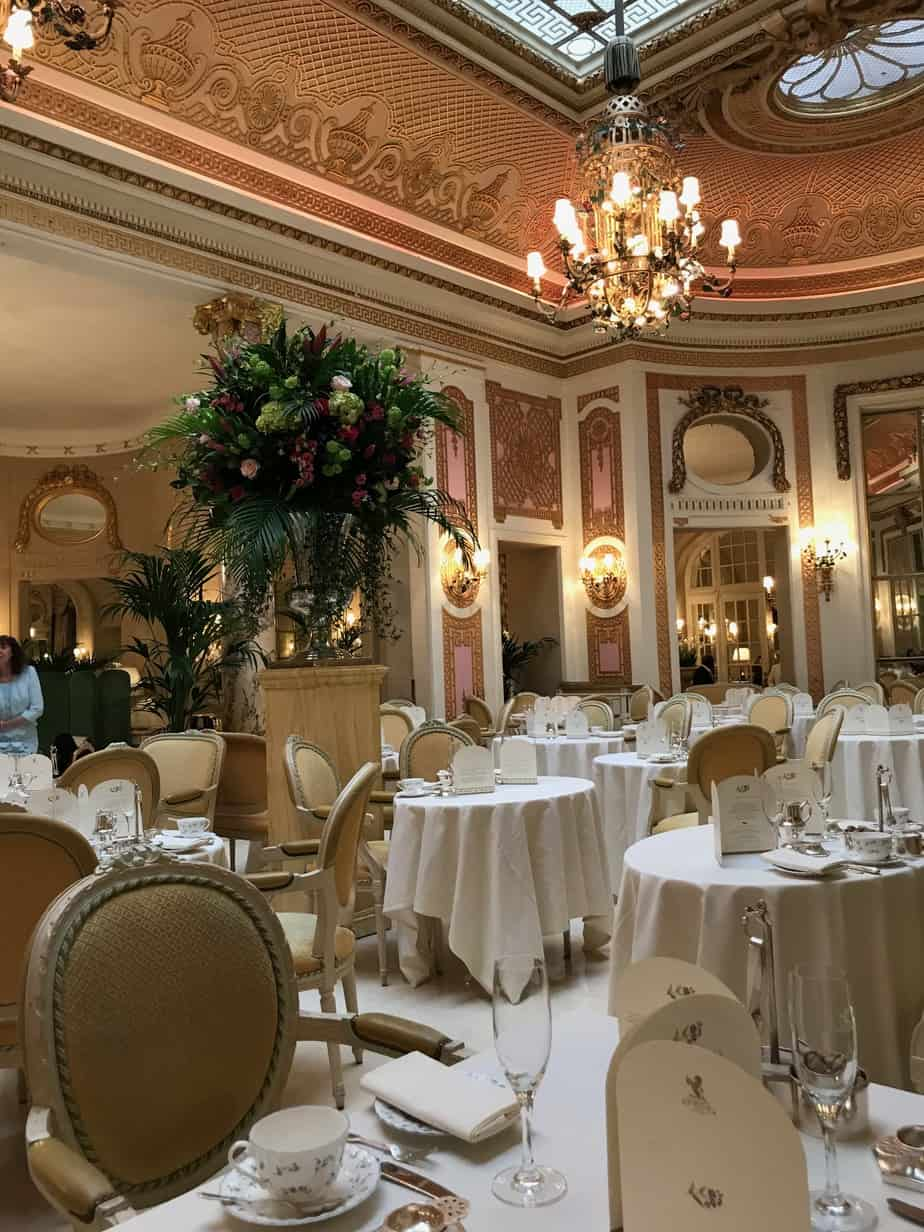 Palm Court The Ritz London