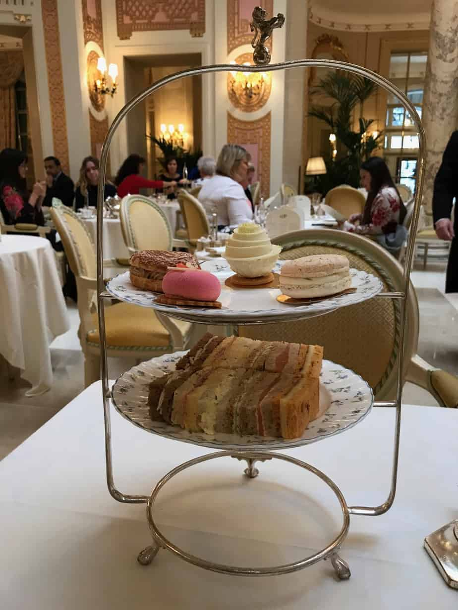 Sweet and Savory Platters Tea The Ritz