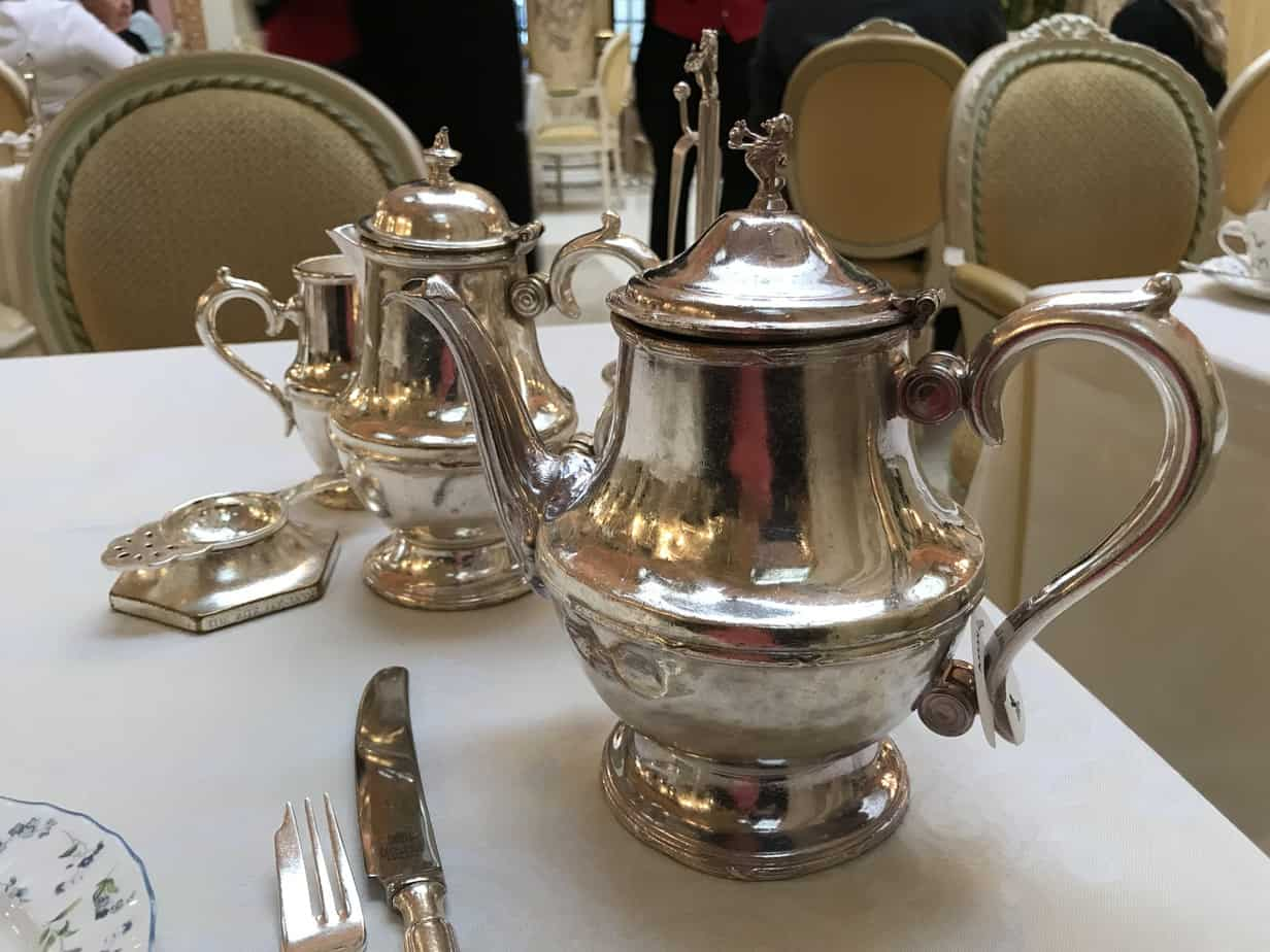 Tea Service The Ritz