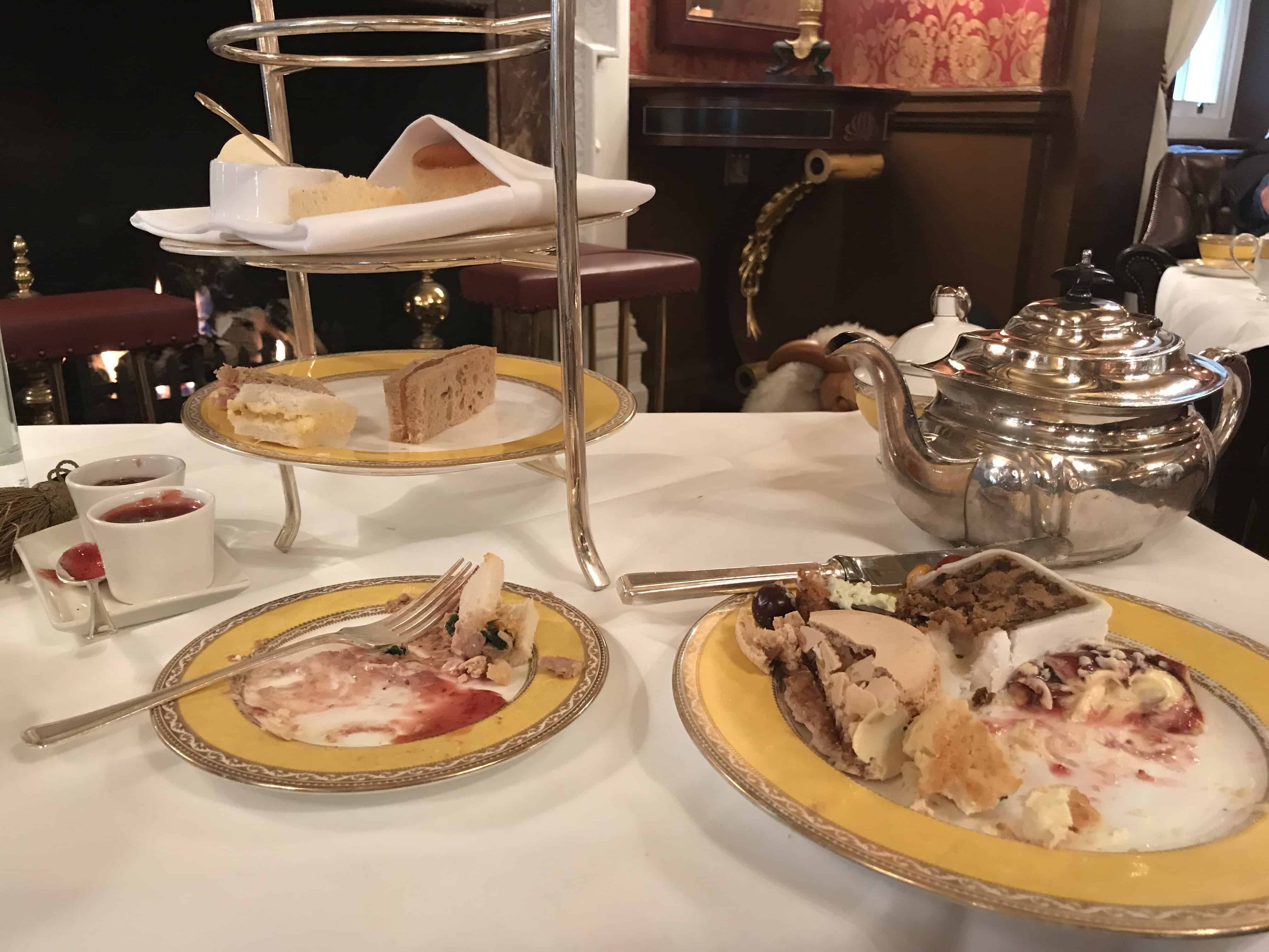 The End of Tea Service The Goring