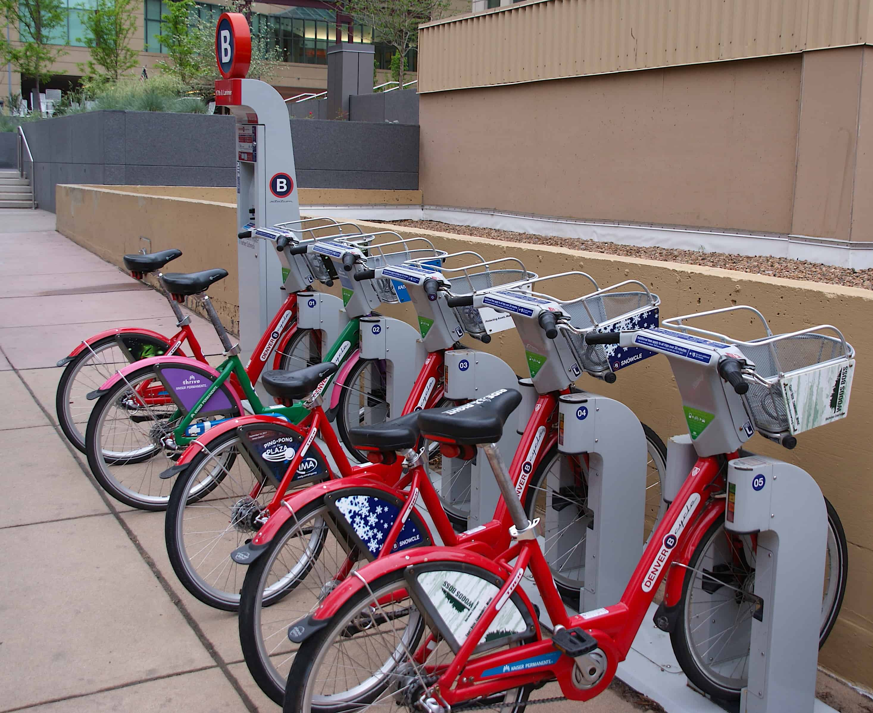 Denver B-Cycle Bike Rentals