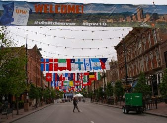 Historic Larimer Street Denver