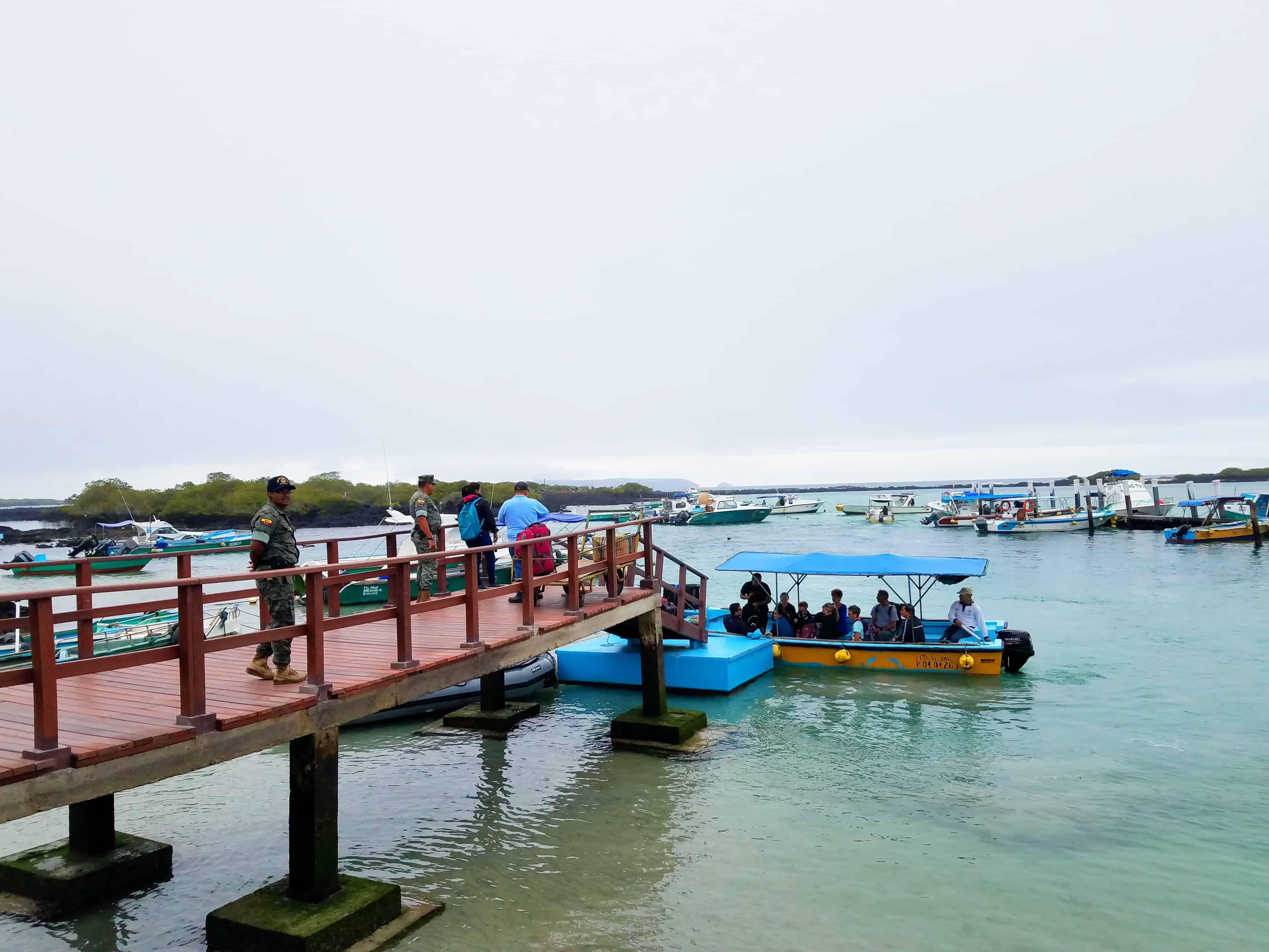Boat Shuttles San Isabela