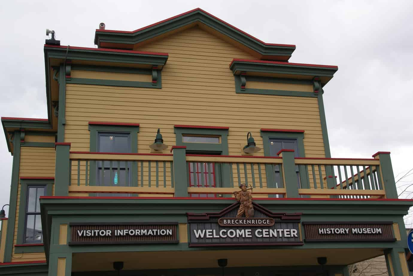 Breckenridge History Museum and Welcome Center