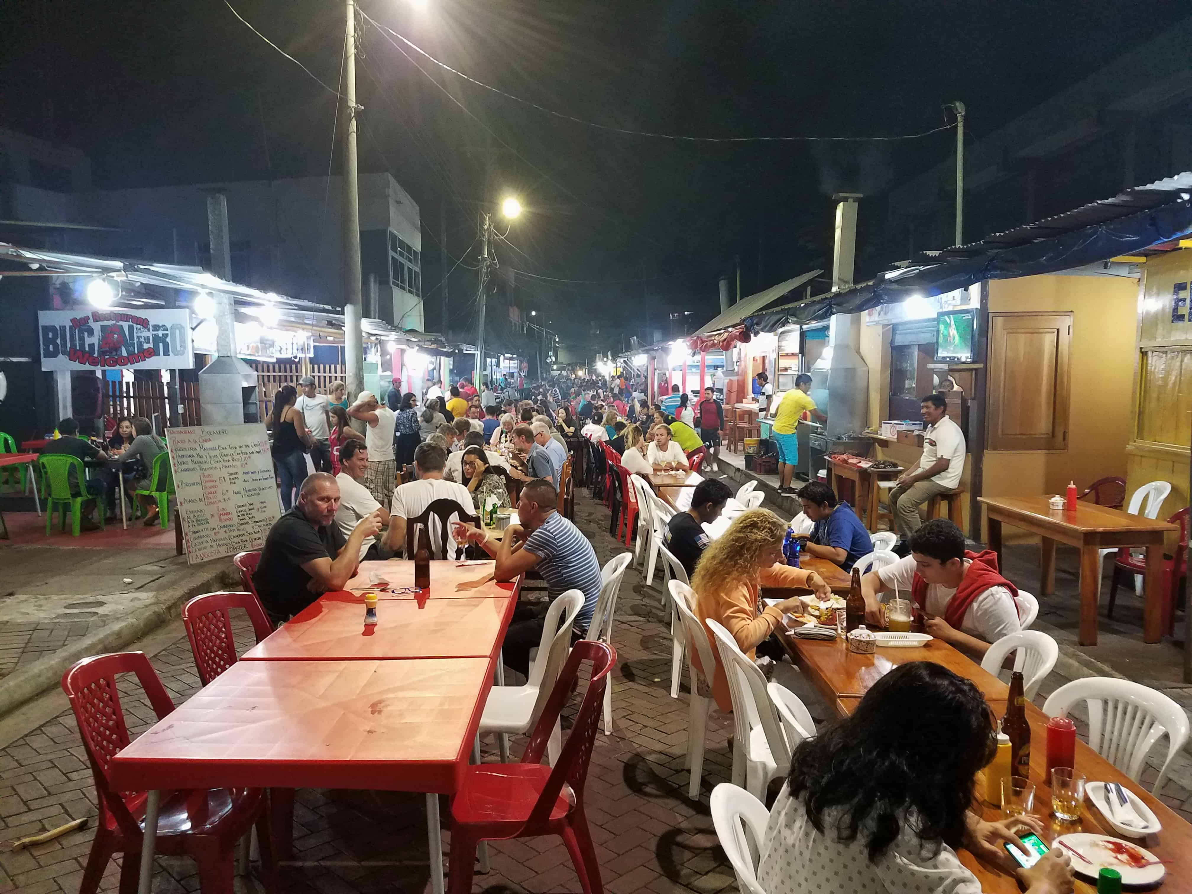Night Market Puerto Ayora