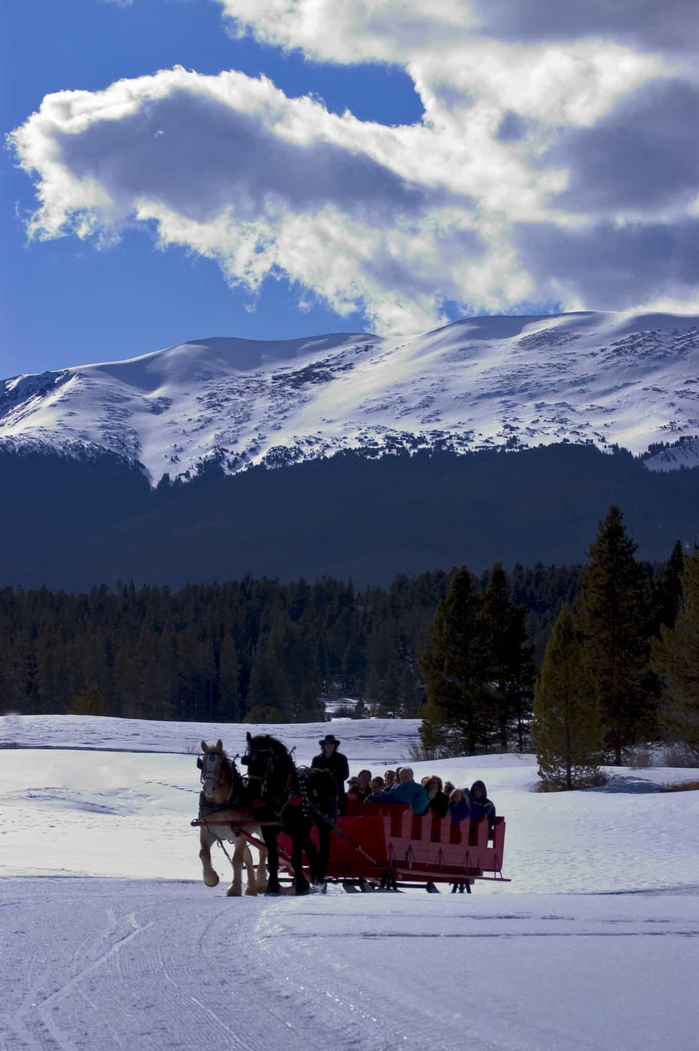 Sleigh Ride Breckenridge