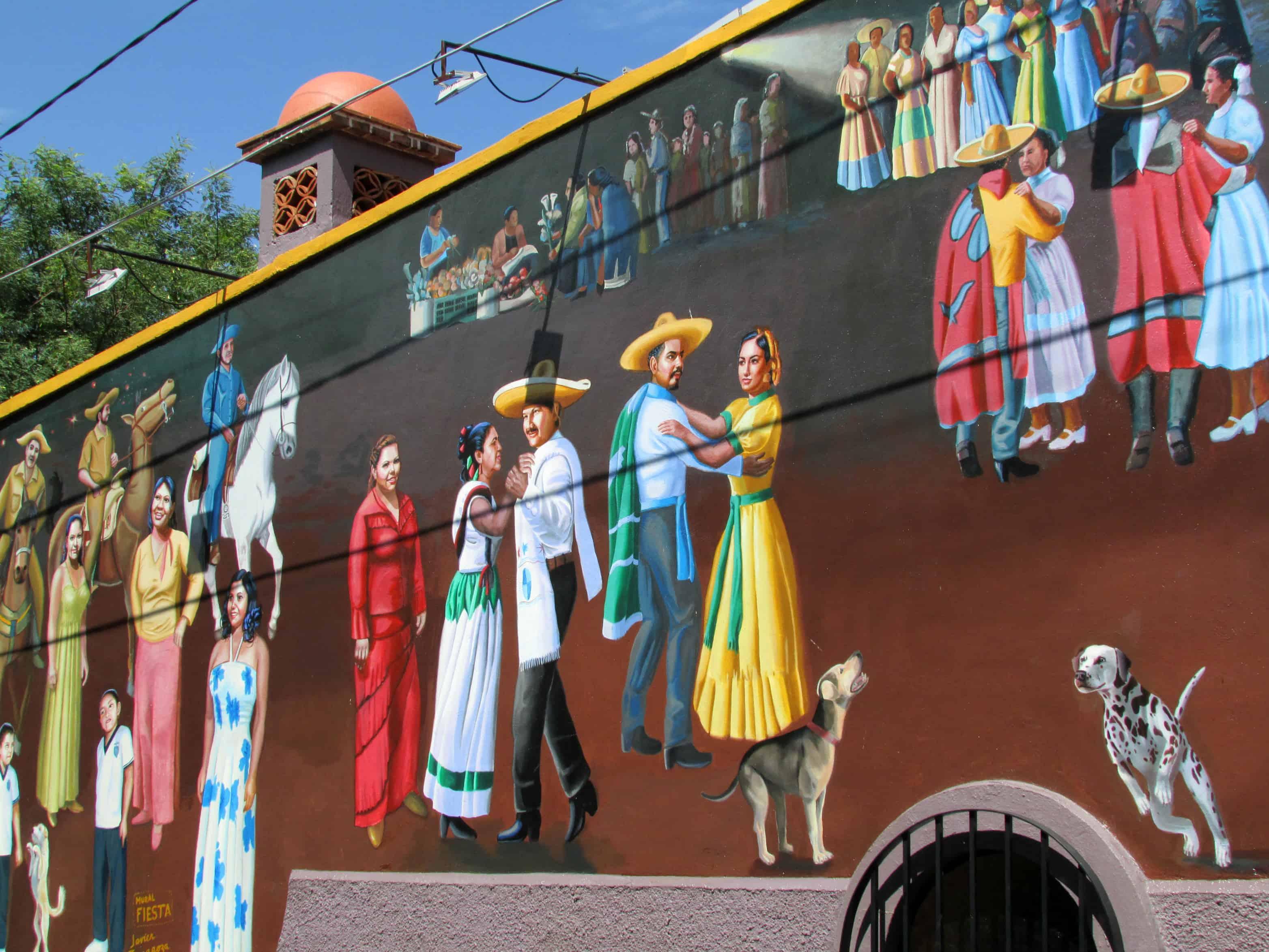 Ajijic Mexico Mural