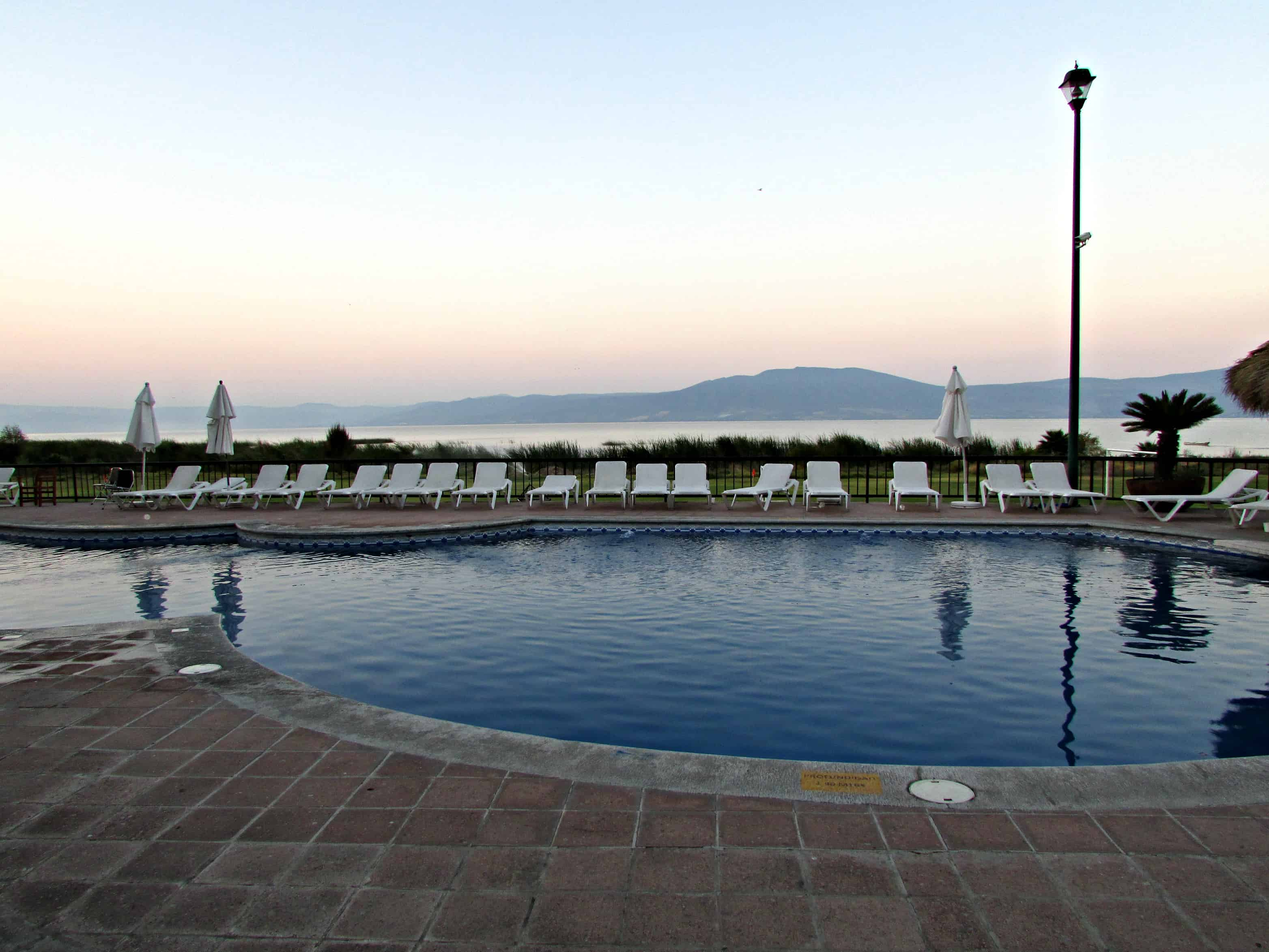 Hotel Real de Chapala Pool Ajijic Mexico