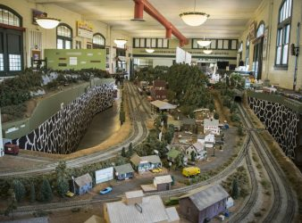 Meridian Railroad Museum-Model Train Display