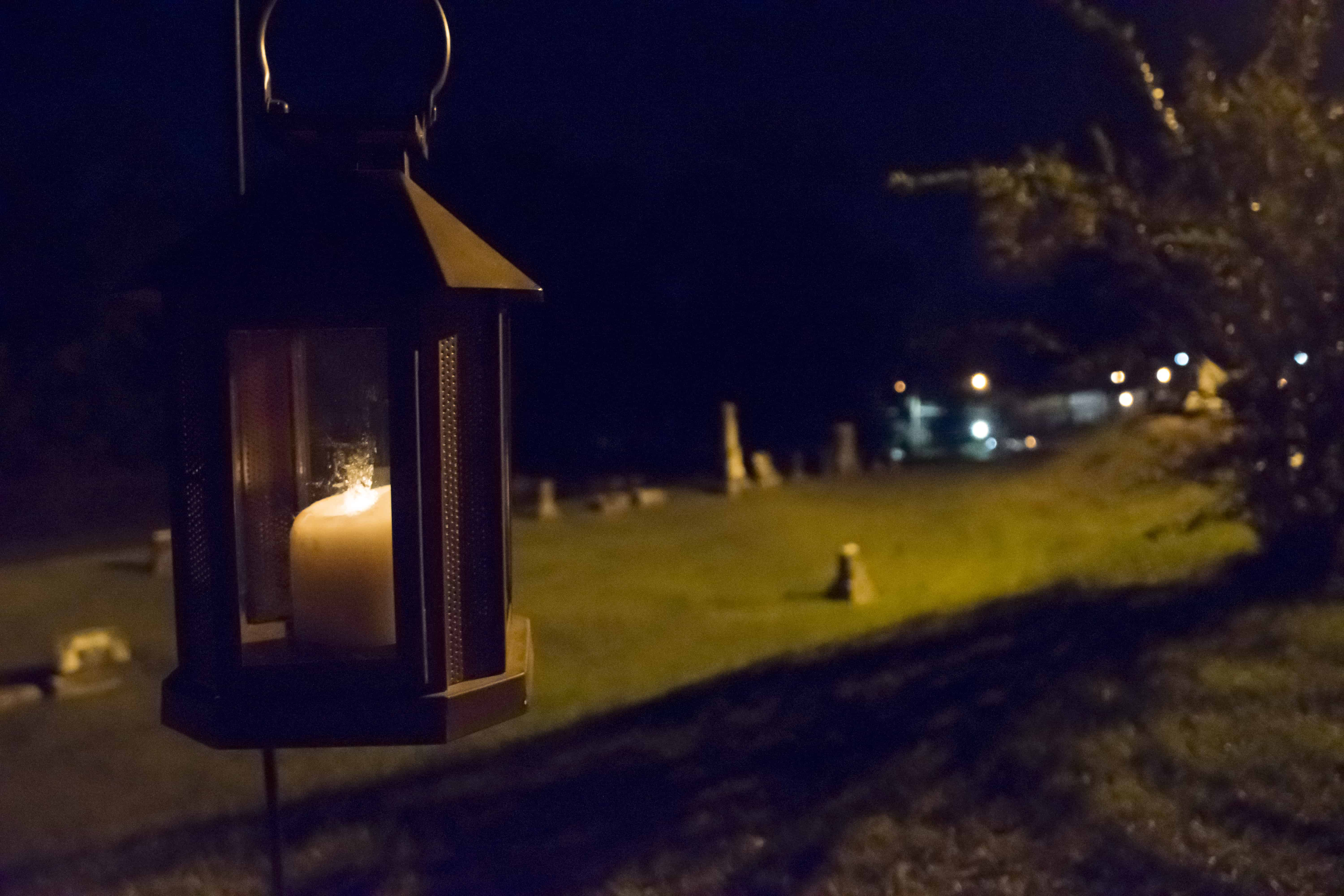 Meridian Rose Hill Cemetery Tour-Lantern