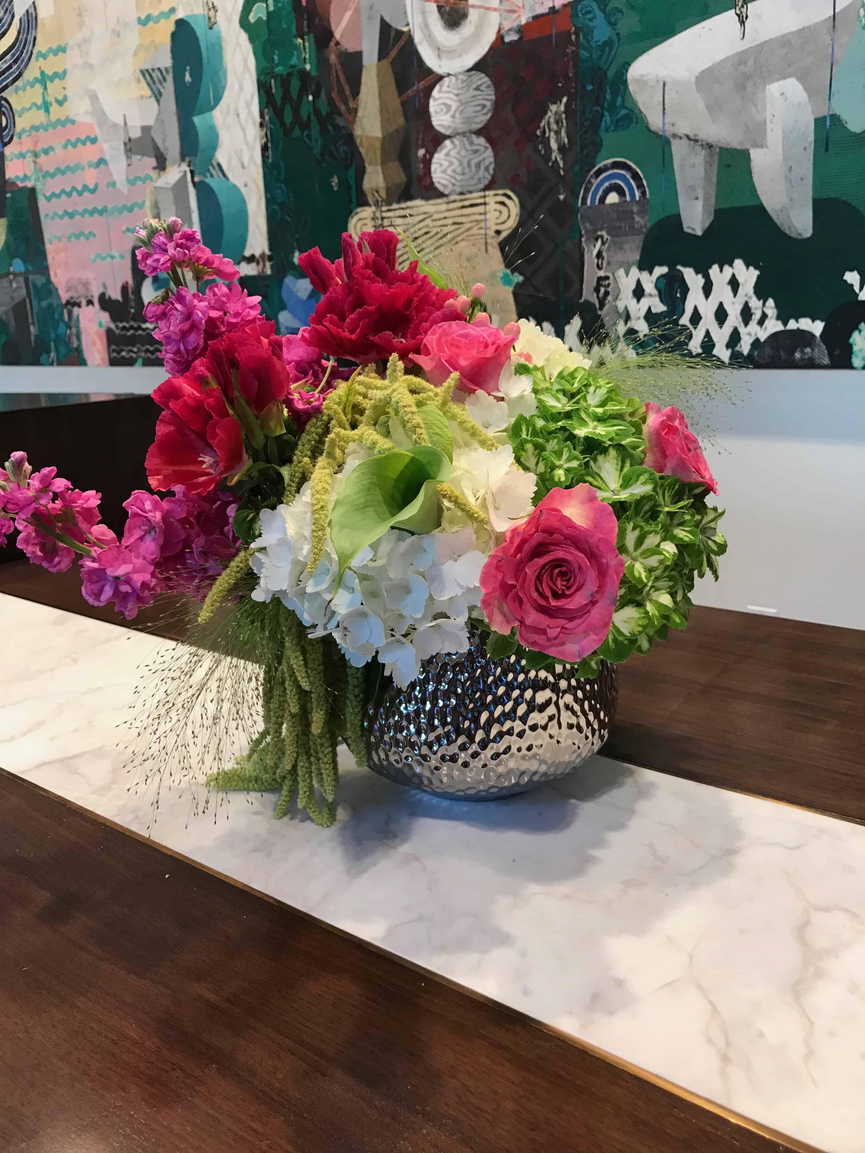 Fresh Flowers Lobby