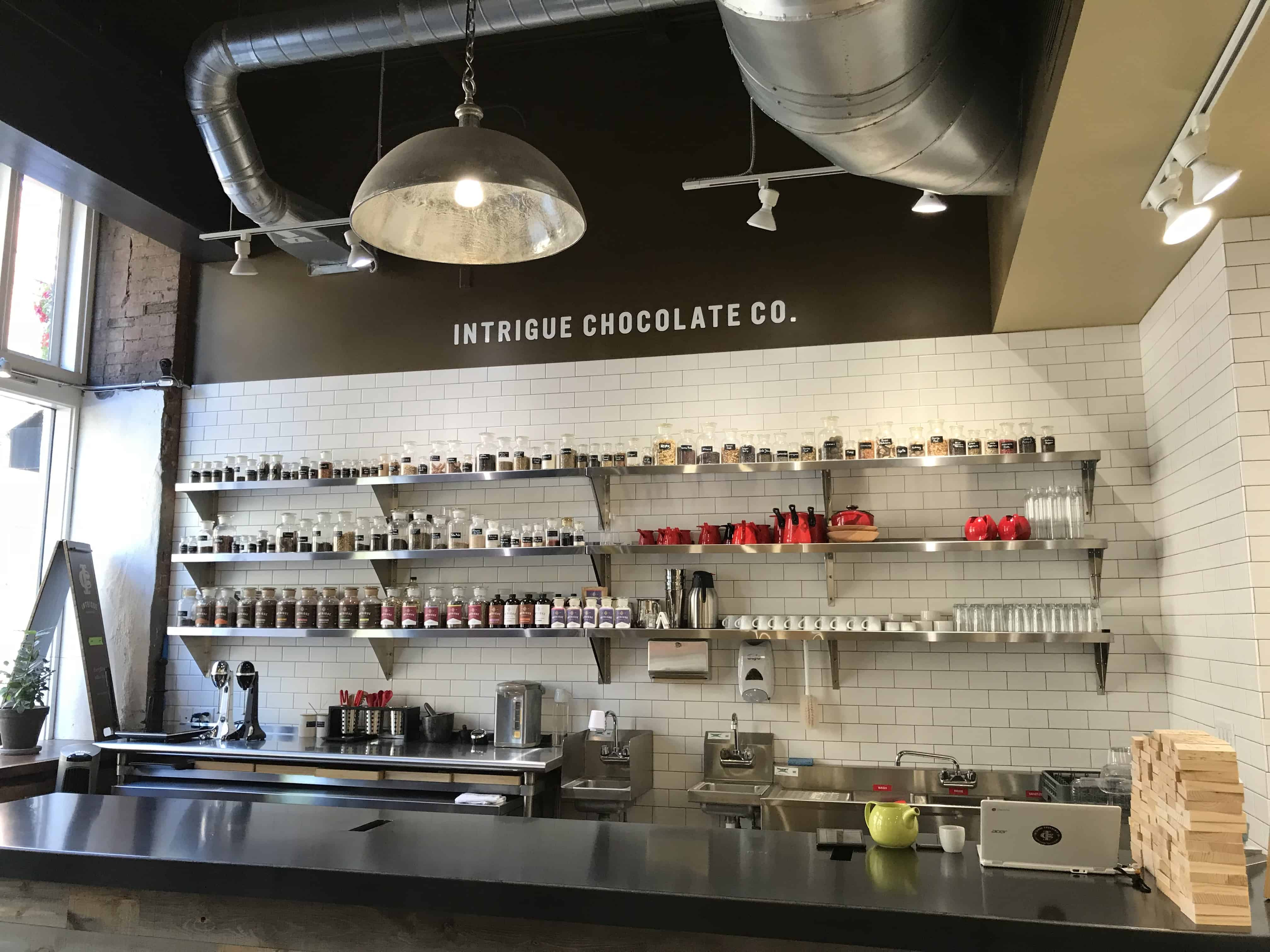 Intrigue Chocolate Company Beverage Bar