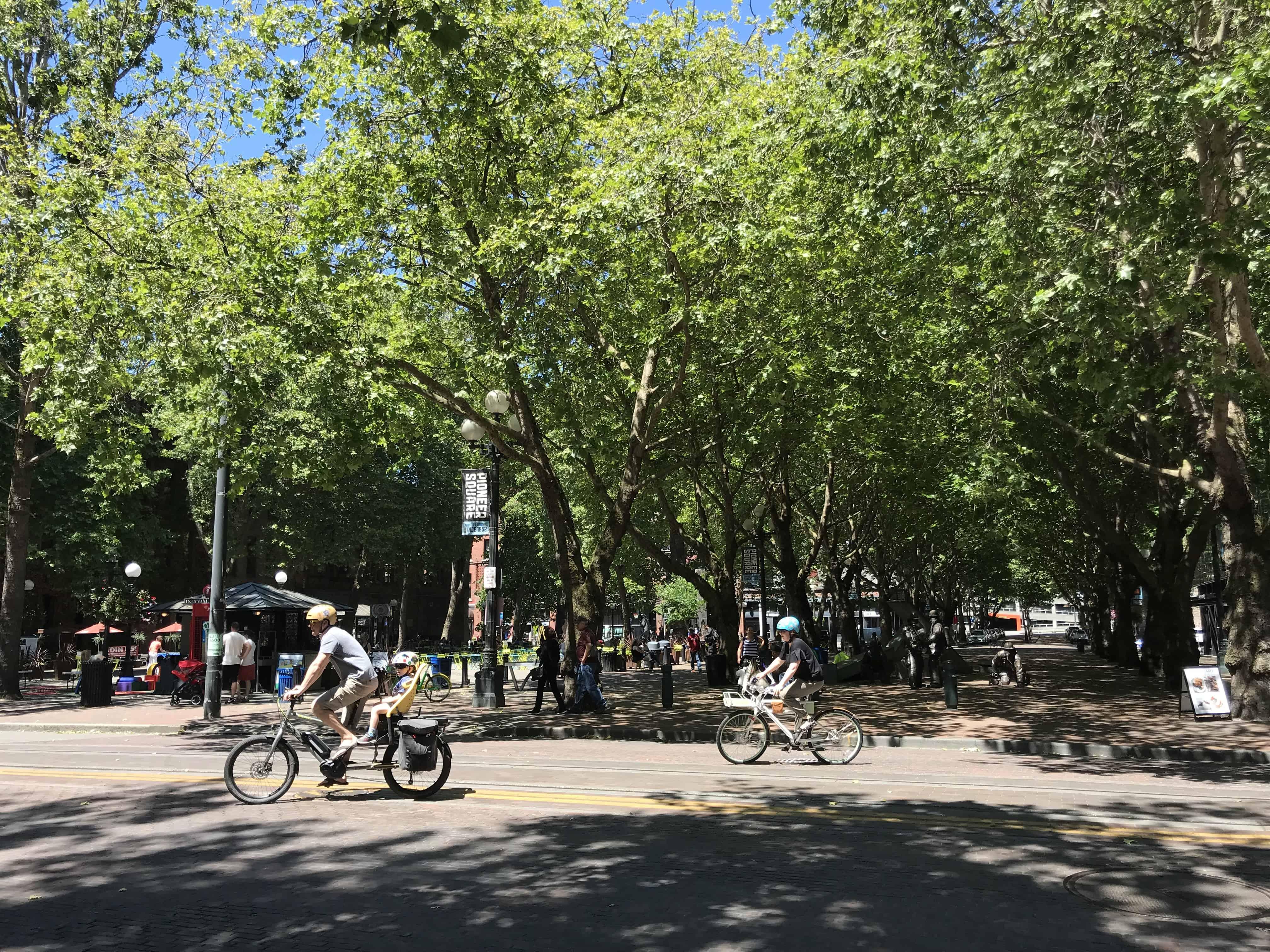 Pioneer Square Bikers