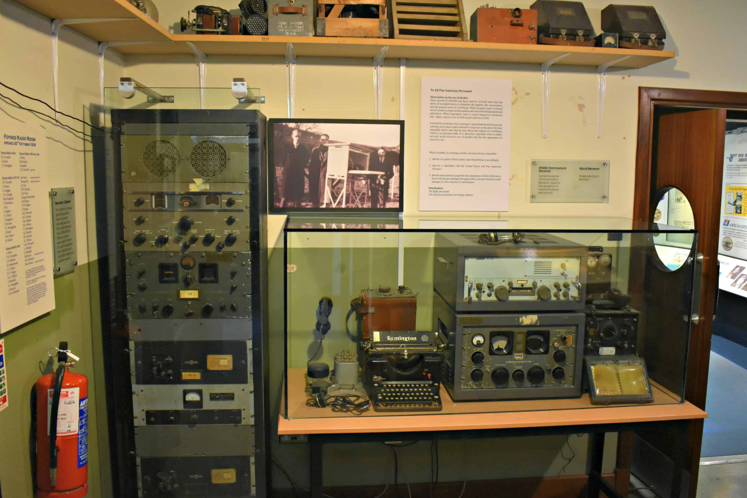 Radio and Weather Room Foynes Flying Boat and Maritime Museum