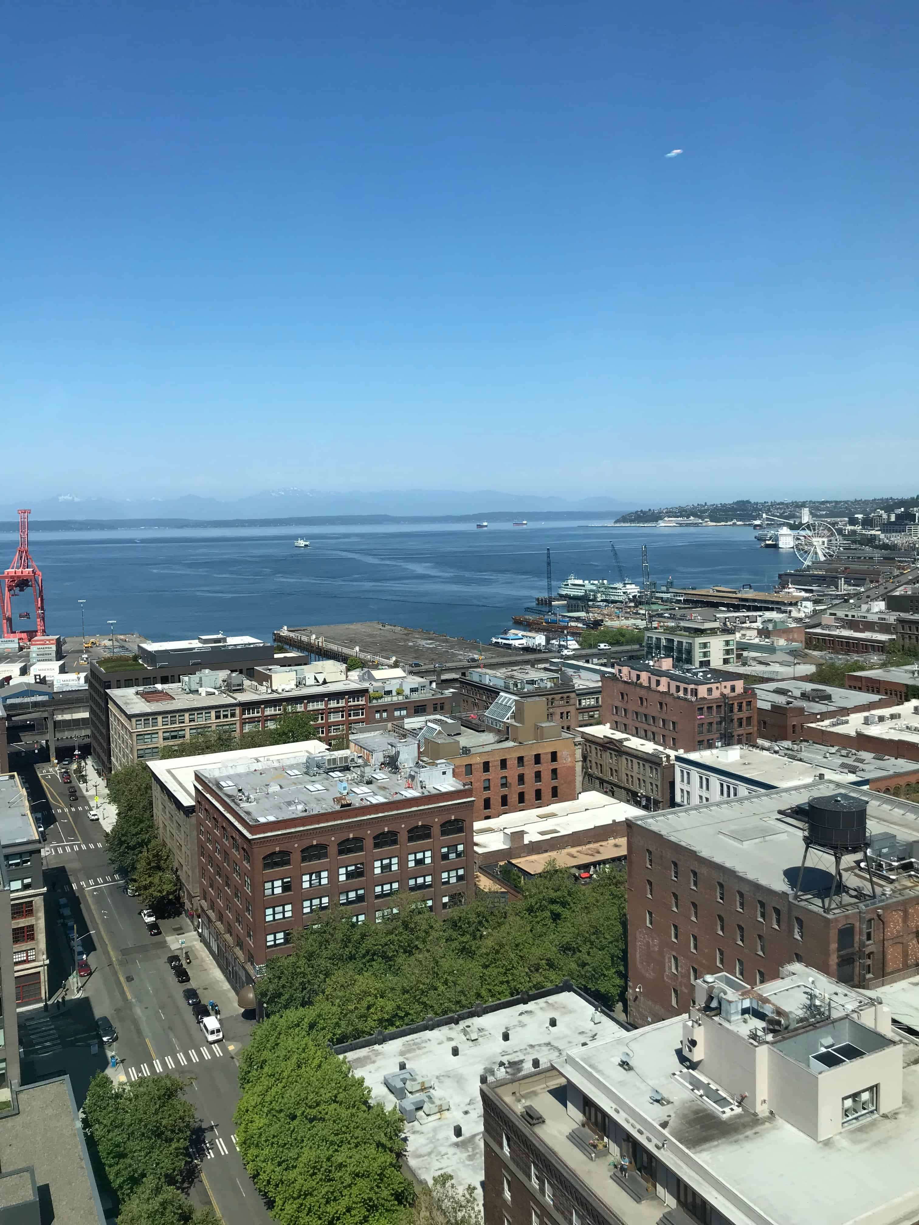 Seattle Harbor from Penthouse