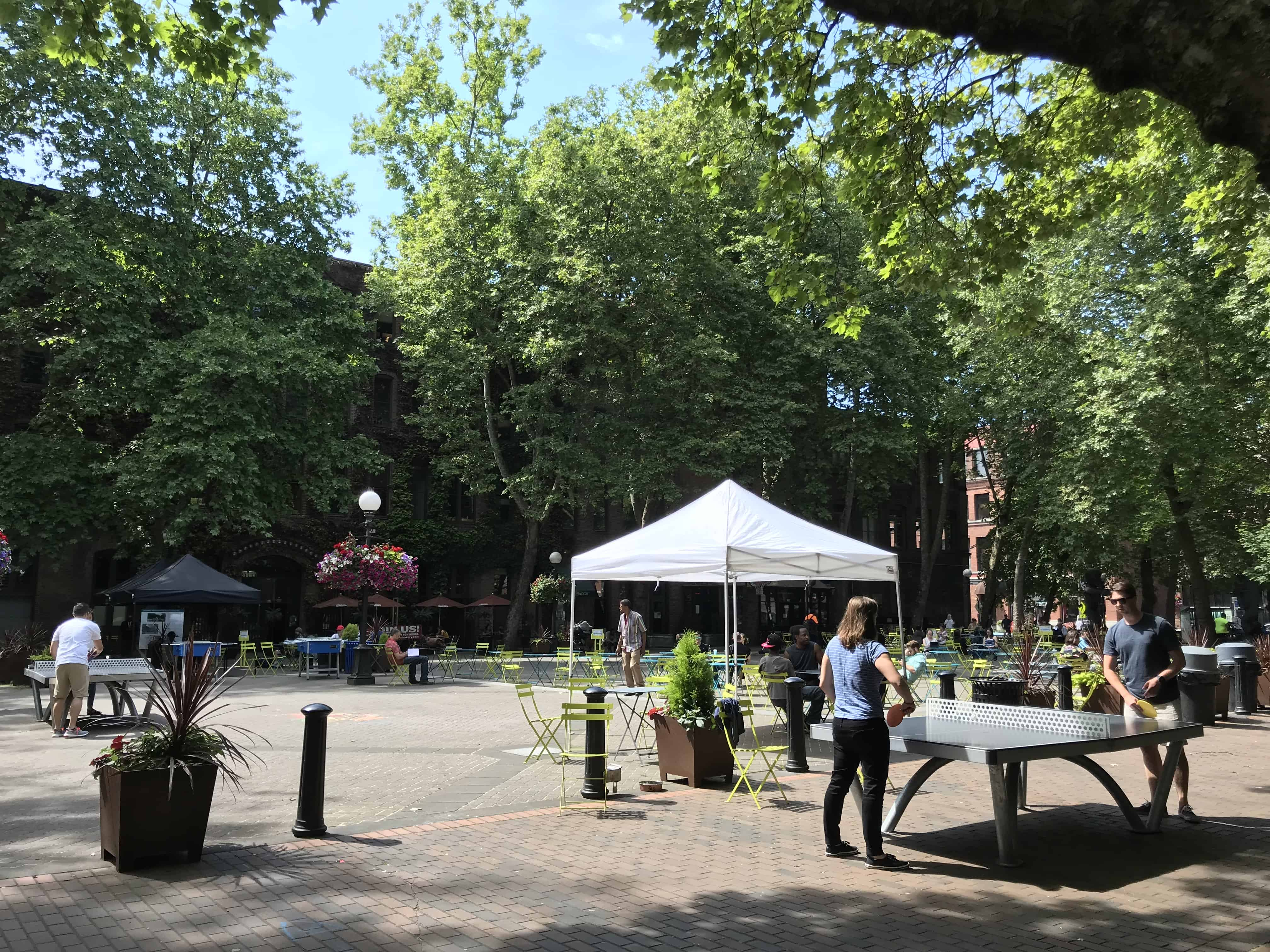 Table Tennis Occidental Square