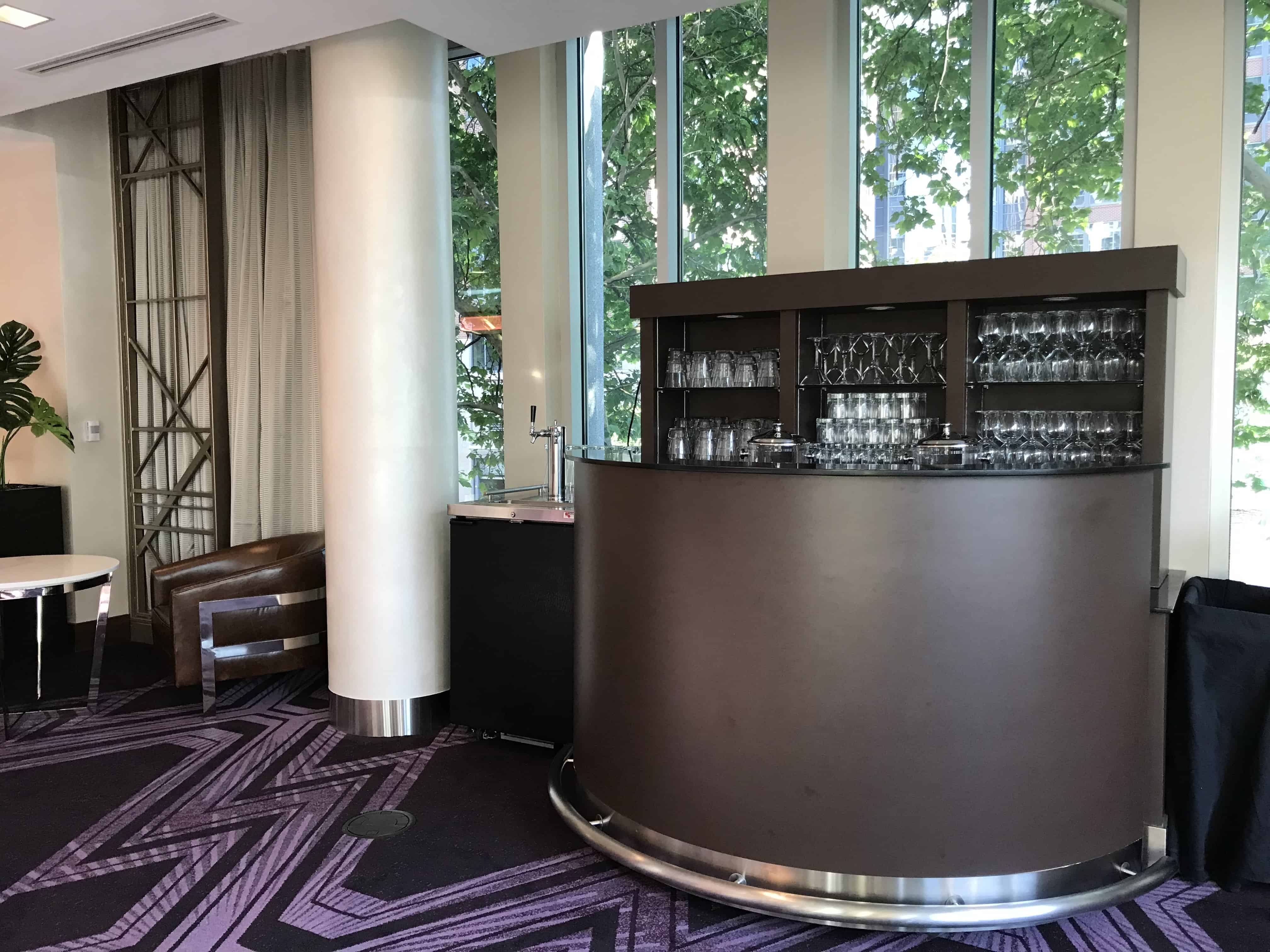 Upstairs Reception Service Area