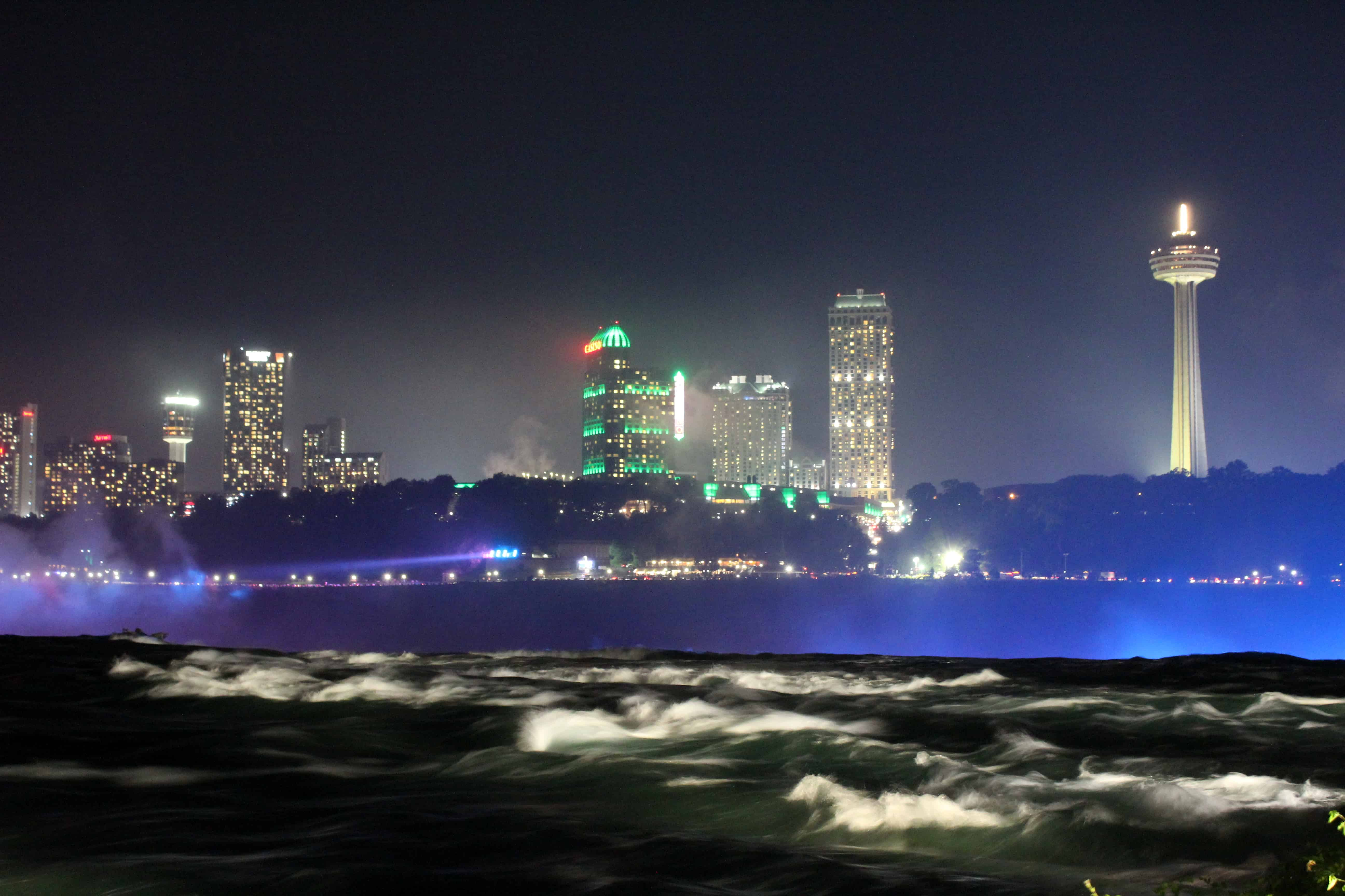 Fireworks American Side of Niagara Falls