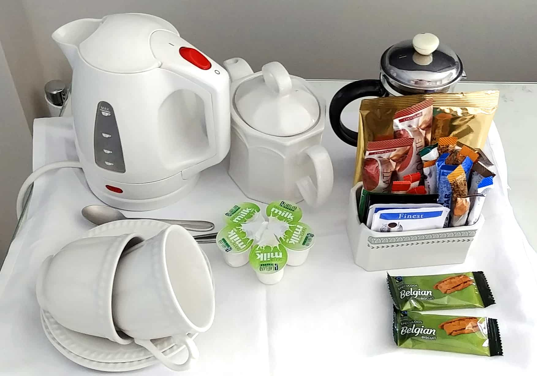 In-room English Tea Service