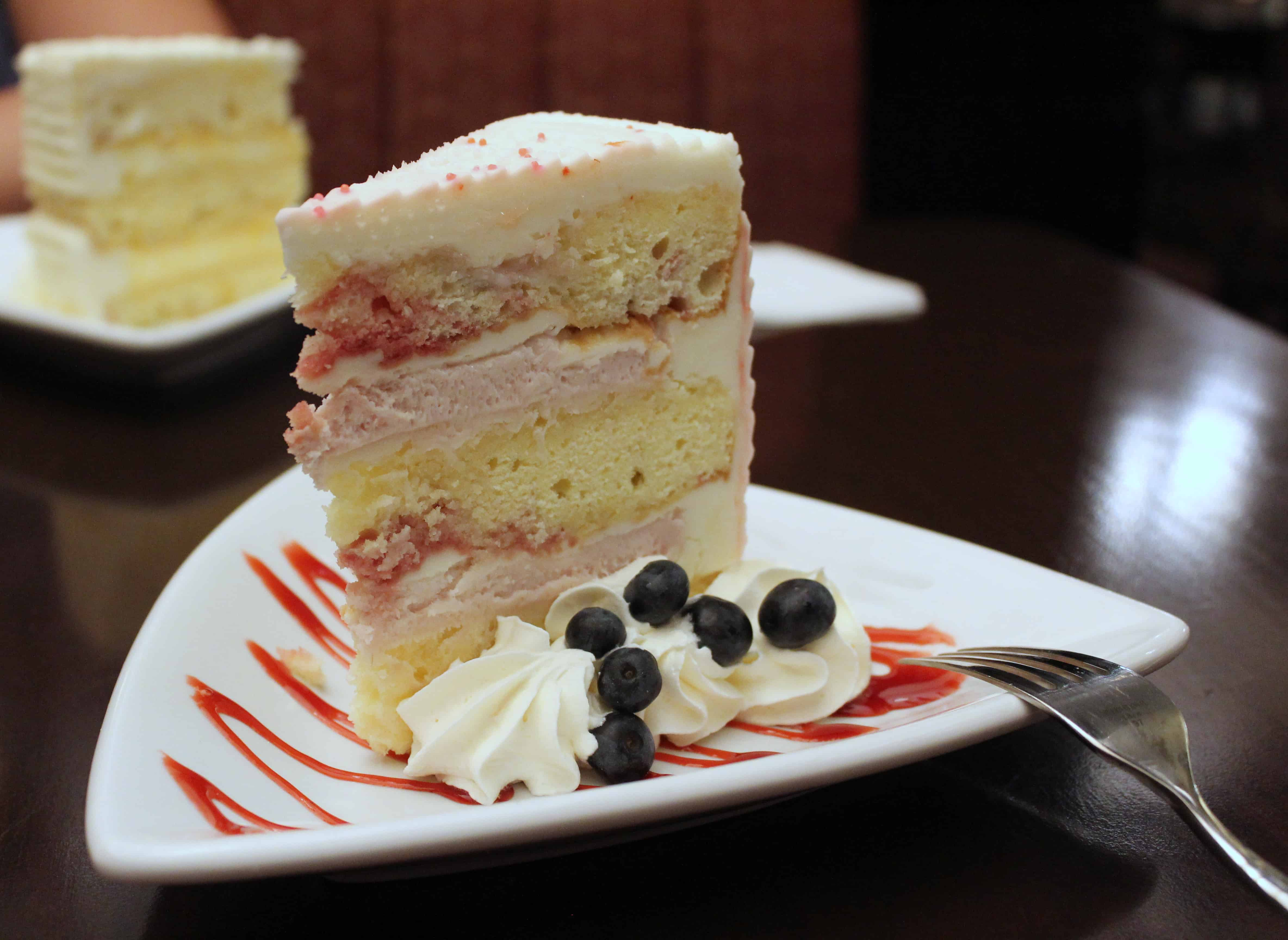 Layered Berry Dessert at Niagara Falls Red Coach Inn