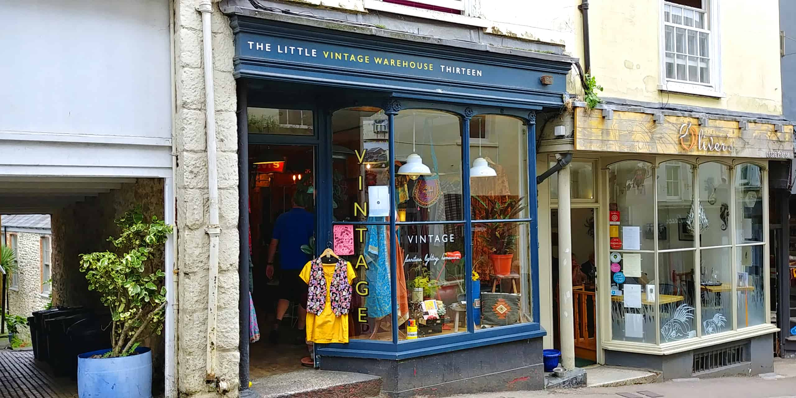 Find the Unique, Unusual and Traditional in the Shops Along High Street in Falmouth