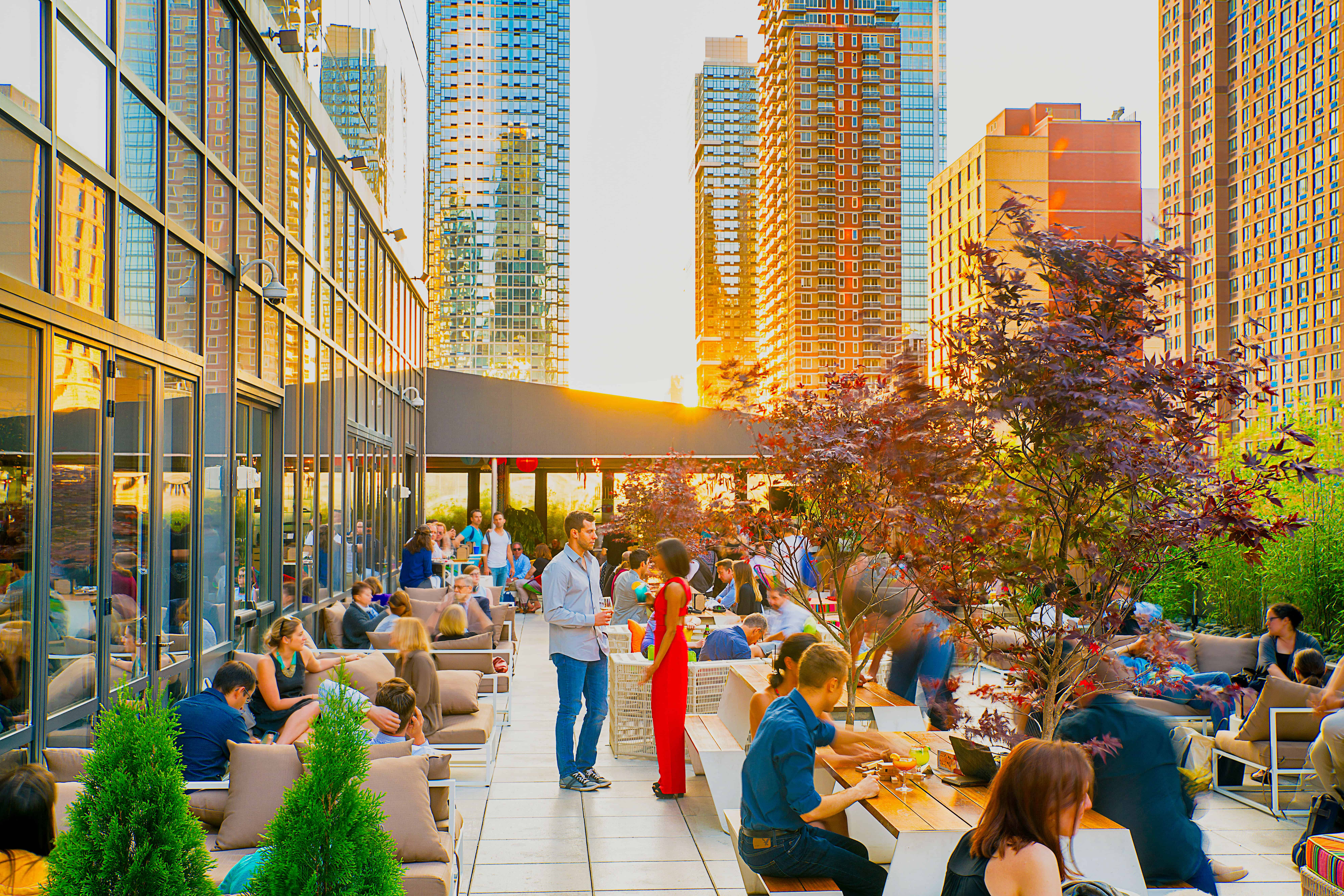 YOTEL Midtown Manhattan Rooftop Terrace