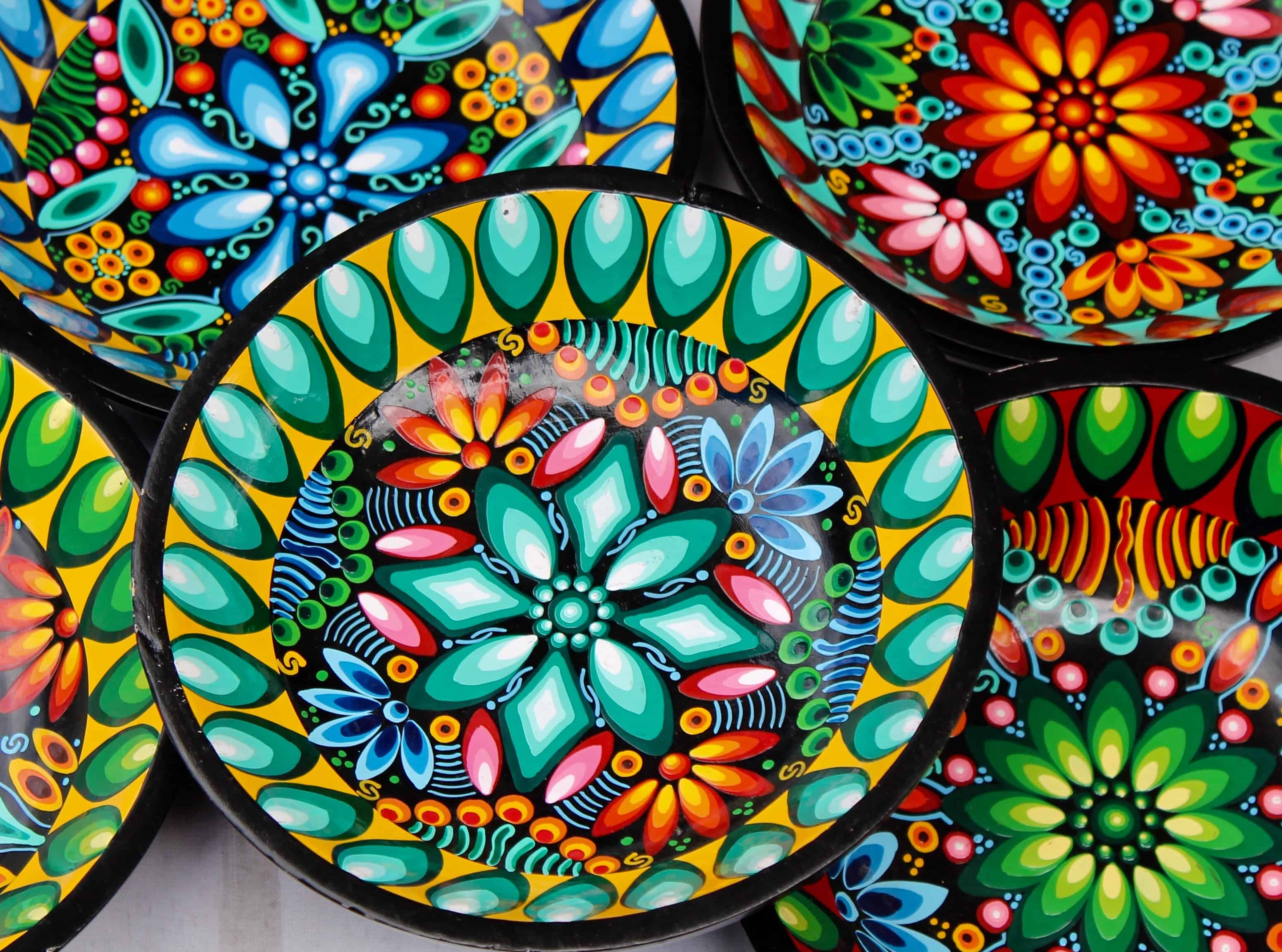 Ecudaorian Bowls at the Otovalo Market - Ecuador Travel
