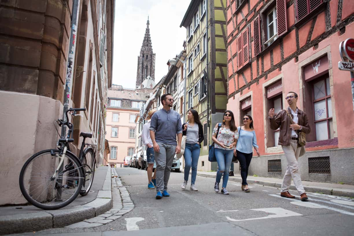 Strasbourg - Cathedral District Eating Europe Tours