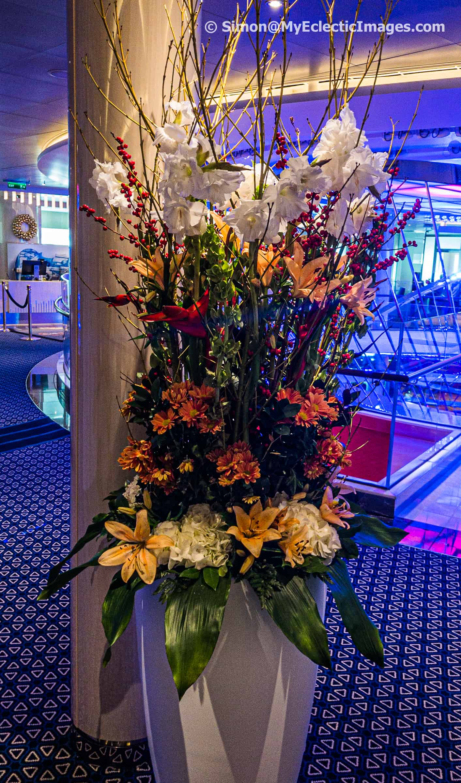 One of Many Flower Arrangements Found Throughout the Nieuw Statendam