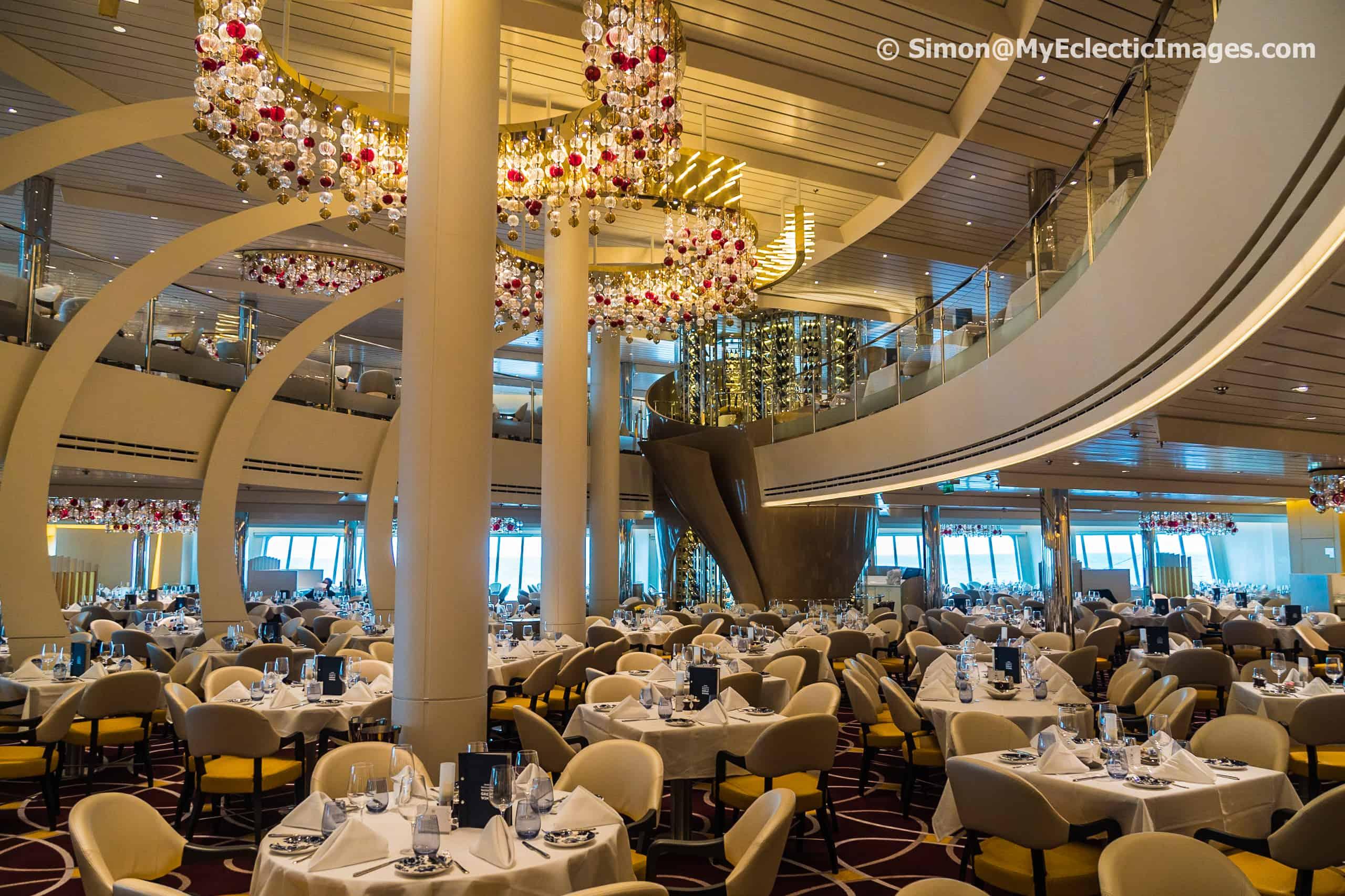 The Formal Dining Room Nieuw Statendam