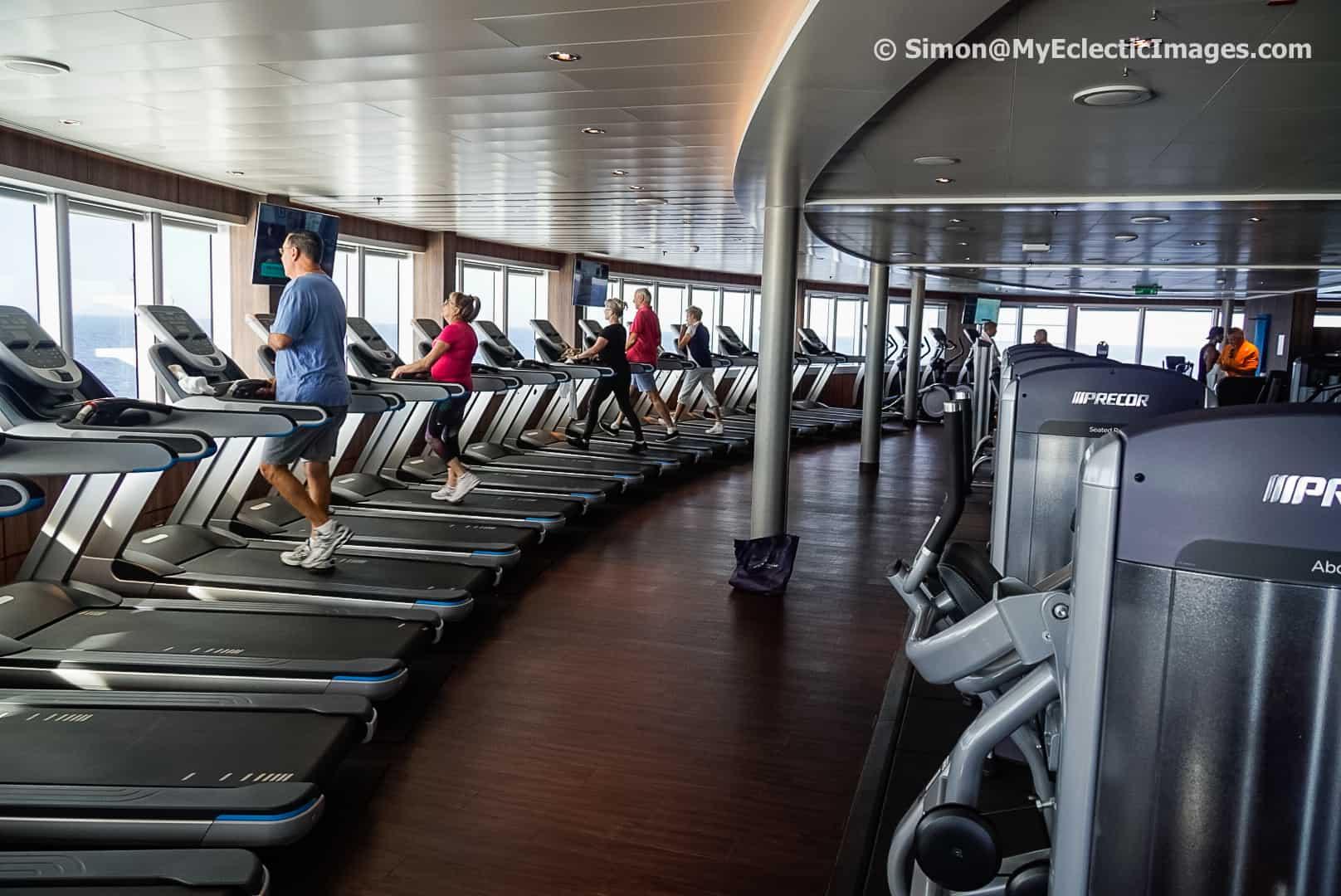 The Gym Aboard the Nieuw Statendam