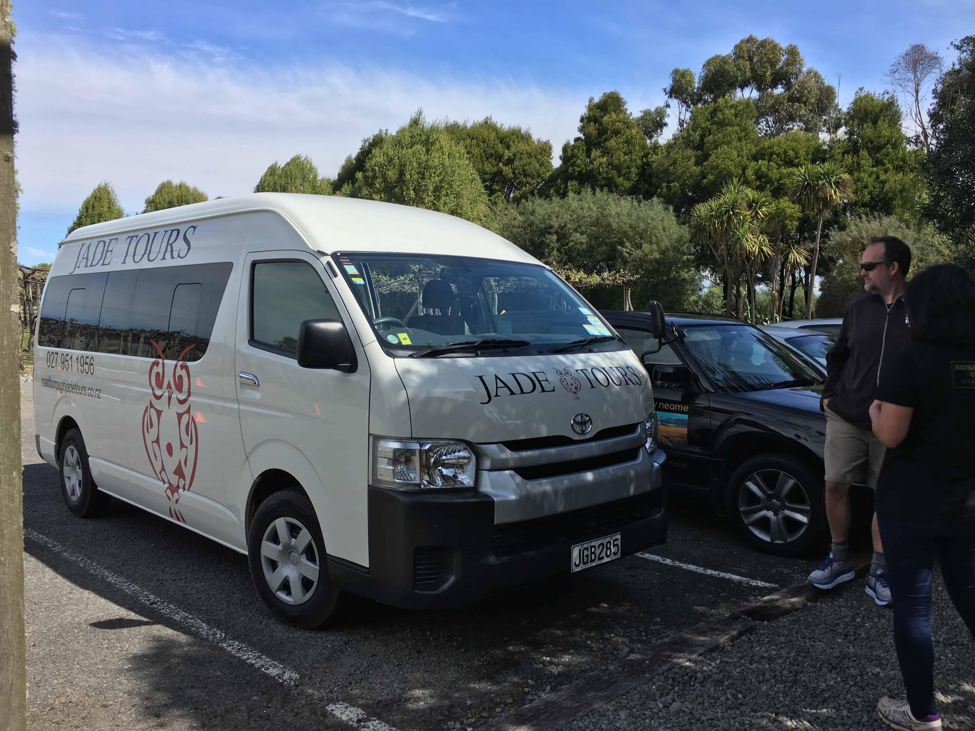Jade Tours Van