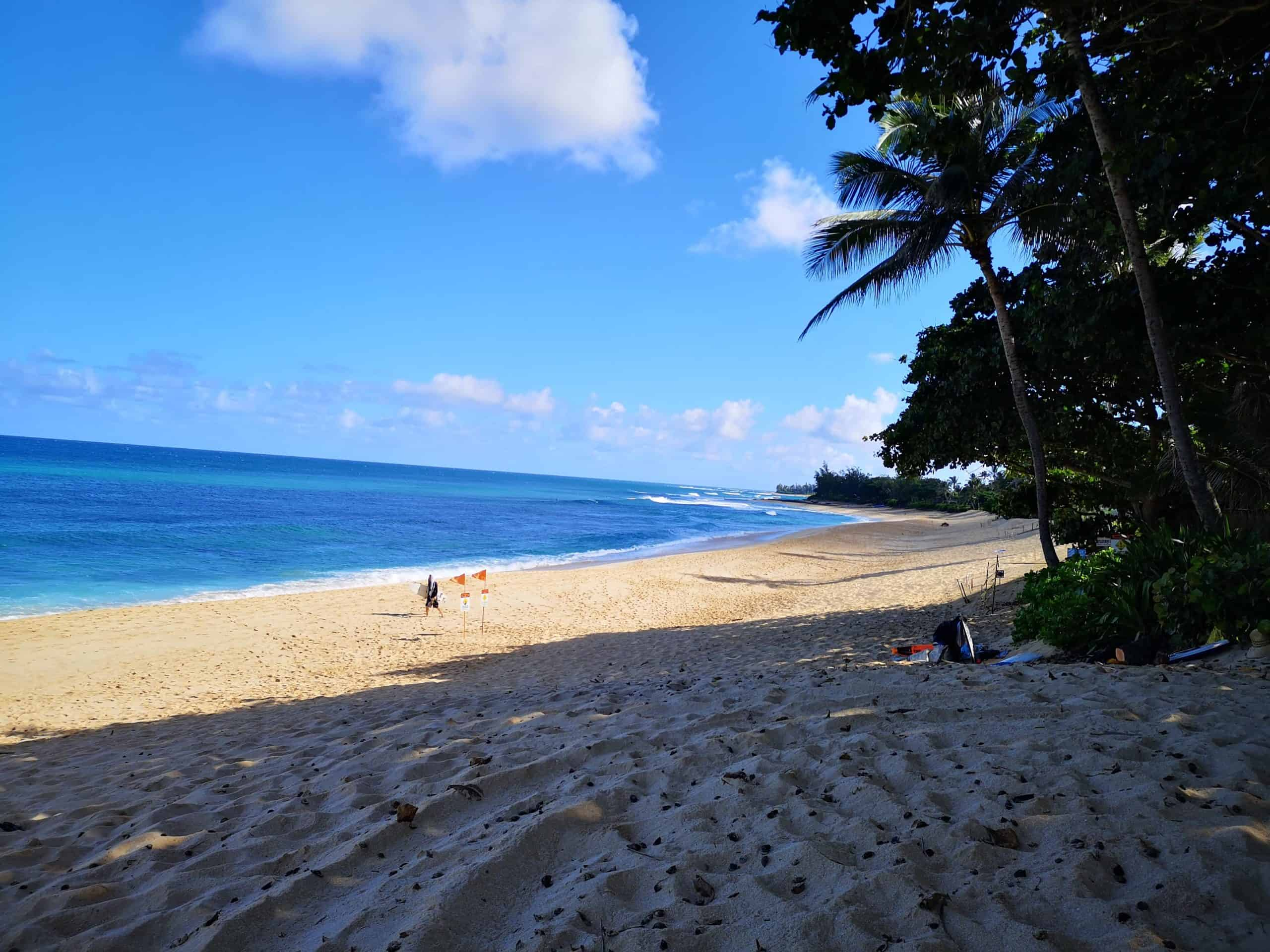 The Banzai Pipeline Beach