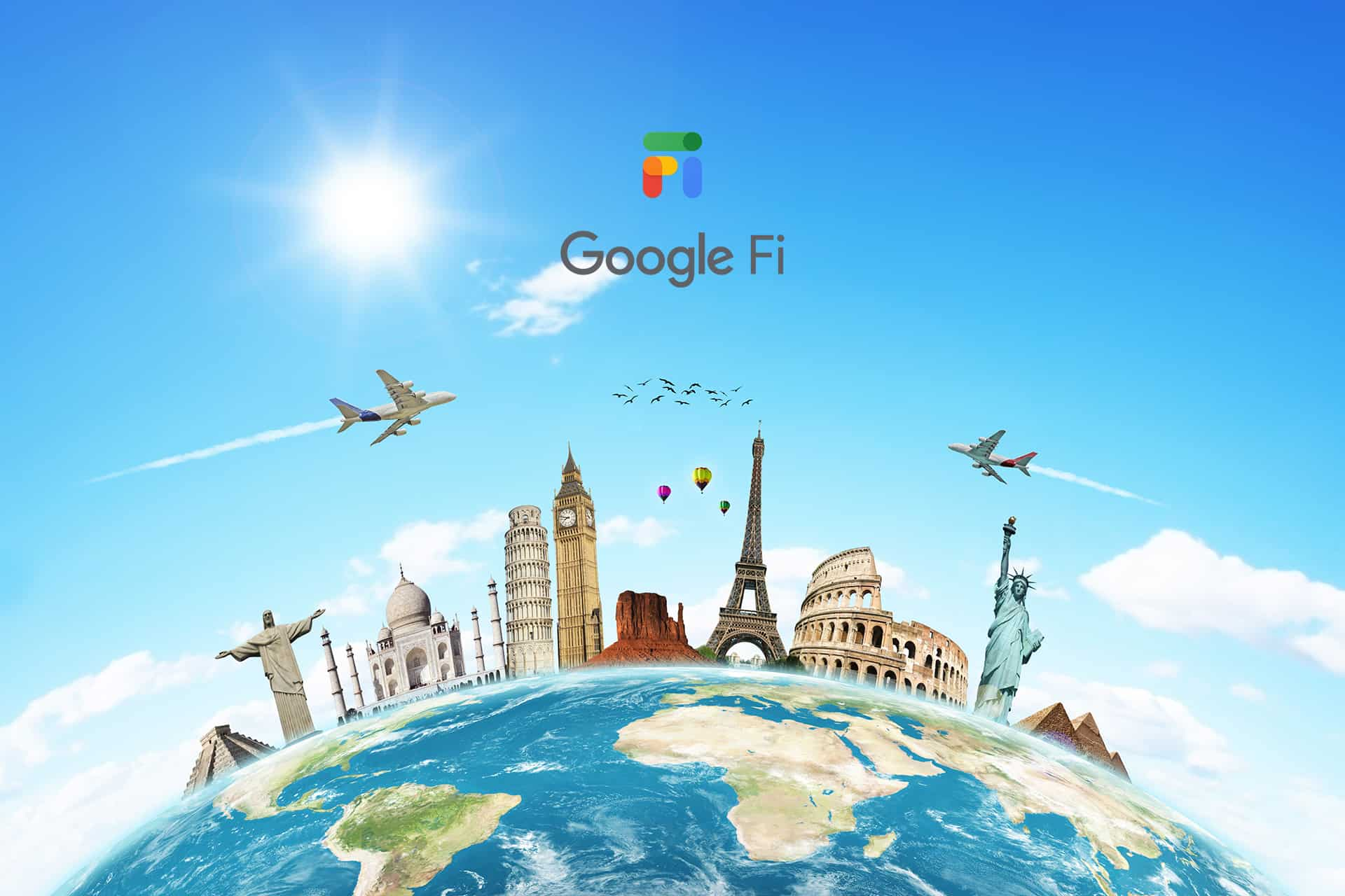 Google Fi for World Travel