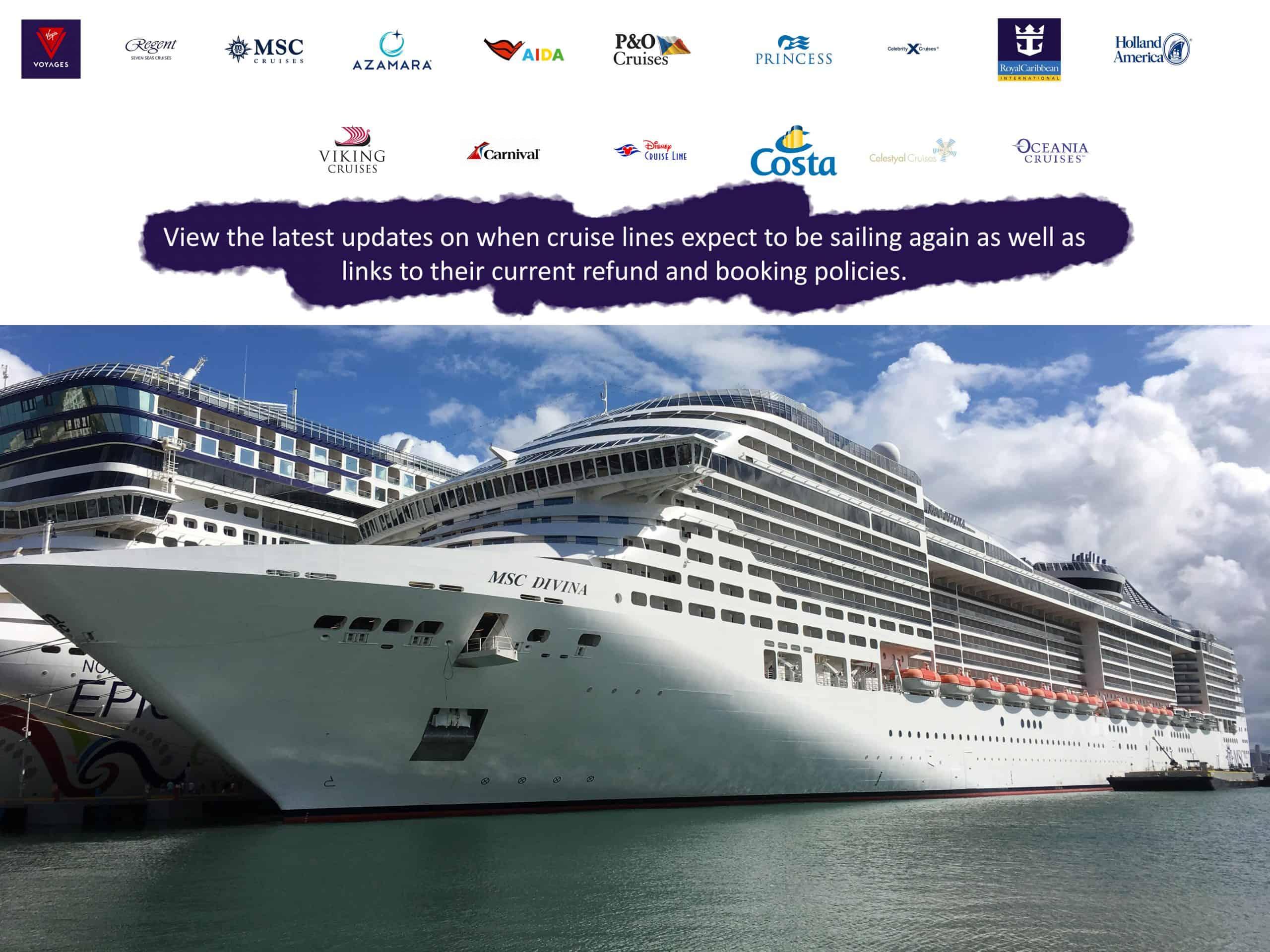 Cruise Updates Corona