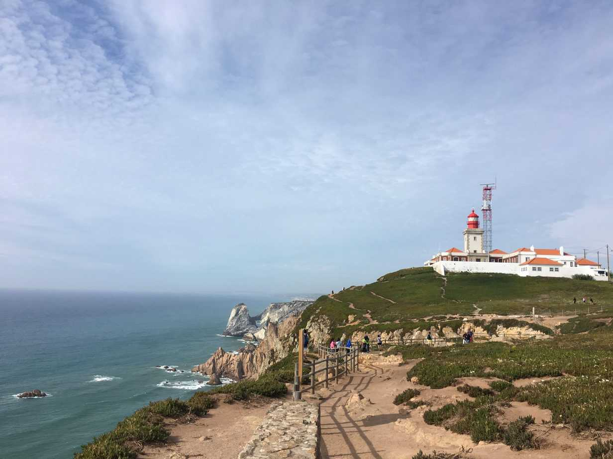 Cabo da Roca Lighthouse from Hike